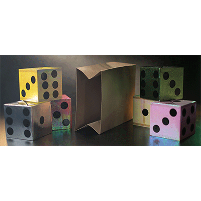 Appearing Dice from Empty Bag by Tora Ma