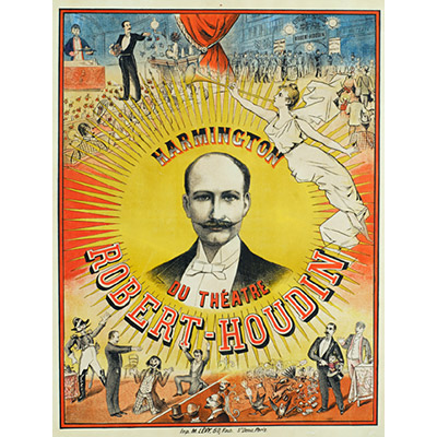 Robert Houdin Theatre Poster (18 inch by