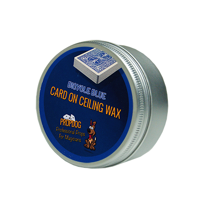 Card on Ceiling Wax 15g (blue) by David