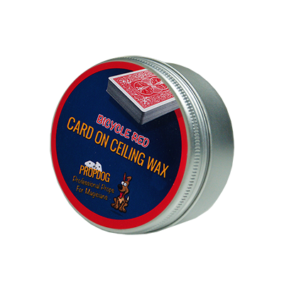 Card on Ceiling Wax 50g (red) by David B