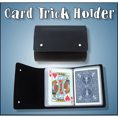 Card Trick Holder Wallet by Heinz Minten Trick