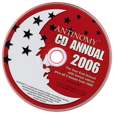 CD Antinomy Annual Year 2 (2006) DVD