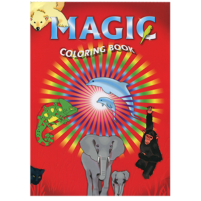 Magic Coloring Book by Vincenzo Di Fatta Magic Trick