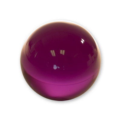 Contact Juggling Ball (Acrylic PURPLE 76