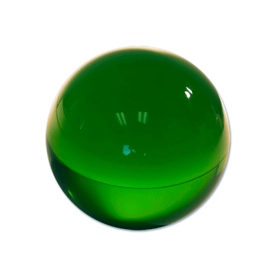 Contact Juggling Ball (Acrylic FOREST GR