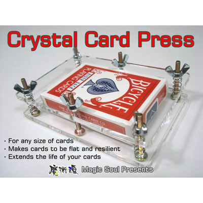 Crystal Card Press by Hondo & Fon Trick