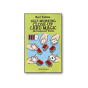 Self Working Close Up Card Magic by Karl Fulves Book
