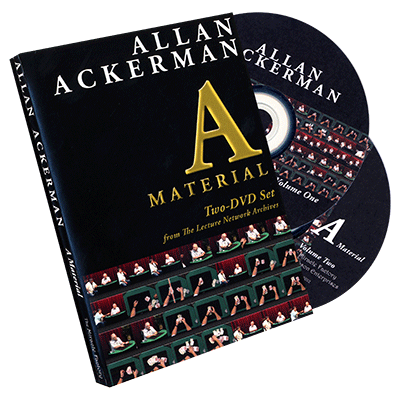 Allan Ackerman A Material (2 DVD Set) by