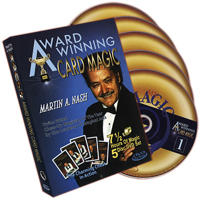 Award Winning Card Magic (5 DVD Set) by