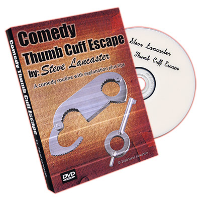 Comedy Thumb Cuff Escape by Steve Lancas