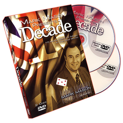 Decade (2 DVD Set) by Mark Mason DVD