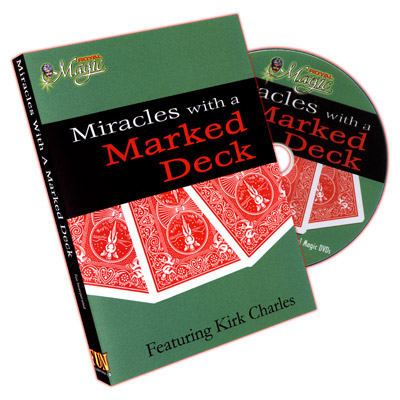 Miracles With A Marked Deck by Kirk Charles DVD