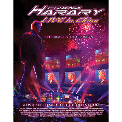 Live in China by Franz Harary DVD