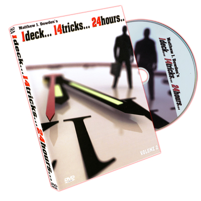 1 Deck 14 Tricks 24 Hours Volume 2 by Ma