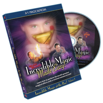 Incredible Magic At The Bar Volume 3 by Michael Maxwell DVD
