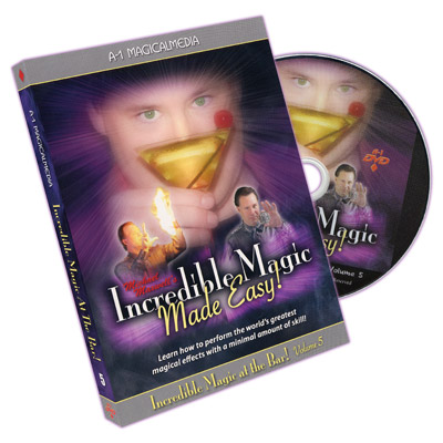 Incredible Magic At The Bar Volume 5 by Michael Maxwell DVD