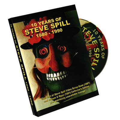 10 Years of Steve Spill 1980 1990 by Steve Sp