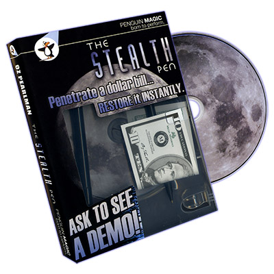 Stealth Pen (DVD and Props) by Oz Pearlman DVD