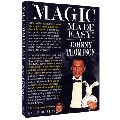 Johnny Thompsons Magic Made Easy by L&L