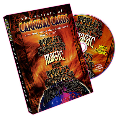 Cannibal Cards (Worlds Greatest Magic) DVD