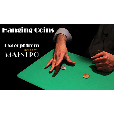 Hanging Coins EXCERPT from Maestro by Da