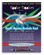 Acrobatic Knot (with DVD) by Daryl Trick
