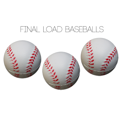 Final Load Base Balls 2.5 inch (3pk) by Big Guys Magic