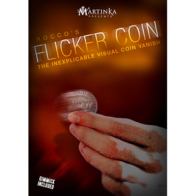 Flicker Coin (Quarter) by Rocco Trick