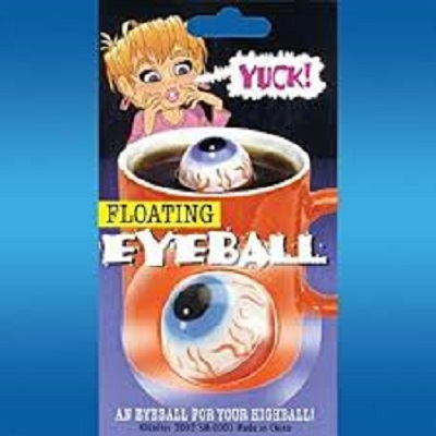Floating Eyeball Prank