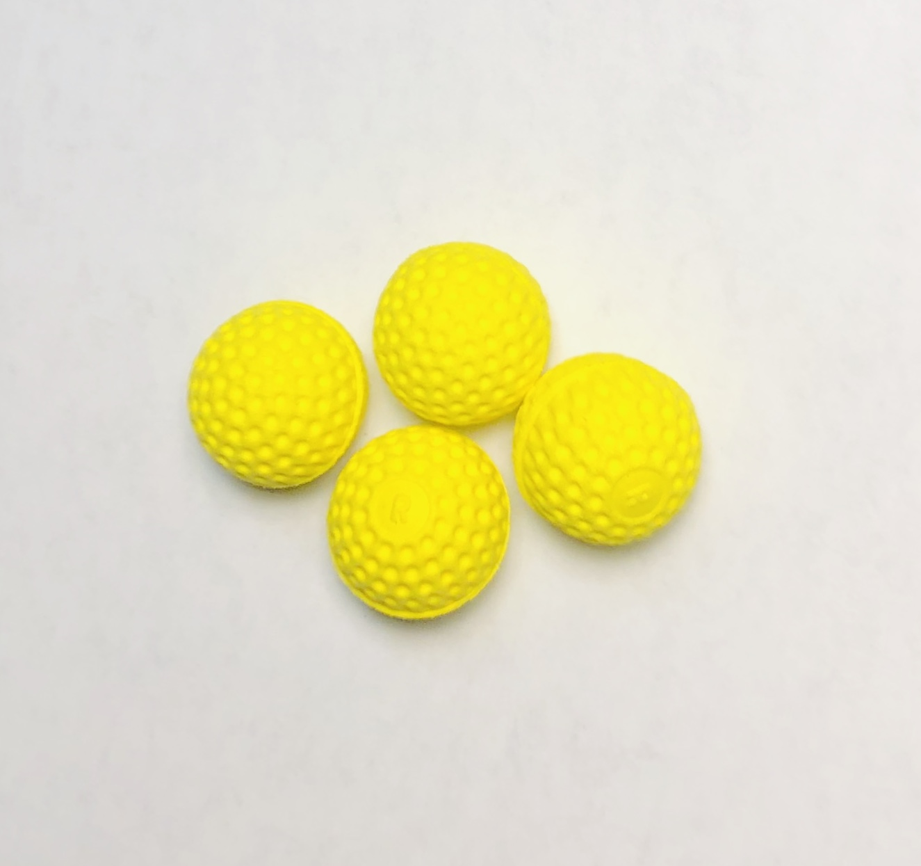 Neon Gripper Combo Chop Cup Balls Set of 4 by