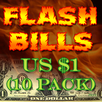 Flash Bill Ten Pack ($1.00) Trick
