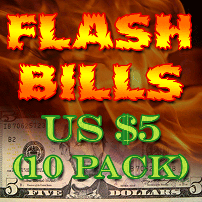 Flash Bill Ten Pack ($5.00) Trick