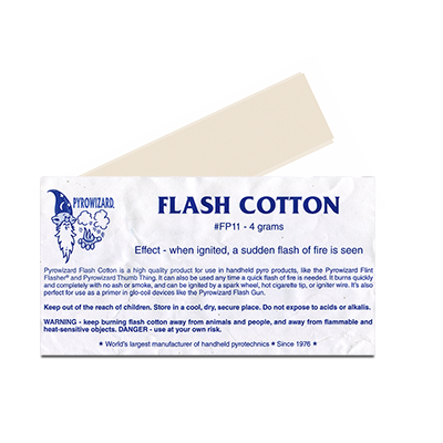 Theatre Effects Pyrowizard Flash Cotton 4 grams