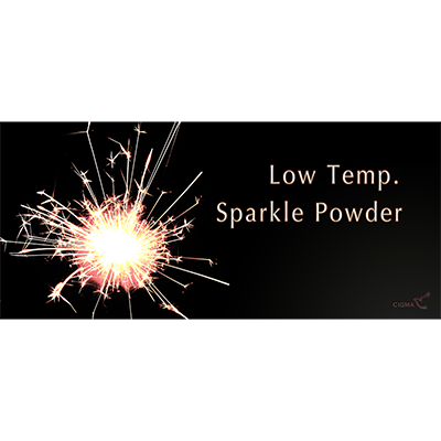 Low temperature sparkle powder (10 grams.) Trick