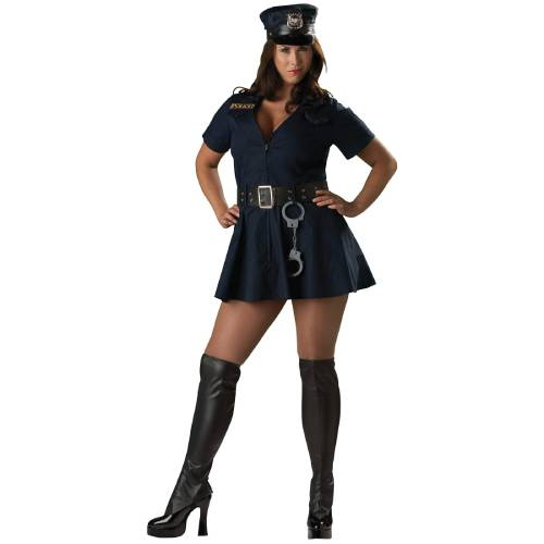 Officer Naughty Adult Costume Extra Larg