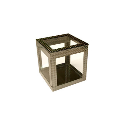 4 inch Crystal Clear Cube by Ickle Pickl