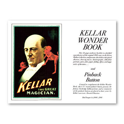 Kellar Wonder Book with Pinback Button B
