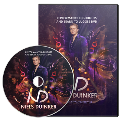 Learn To Juggle by Niels Duinker DVD