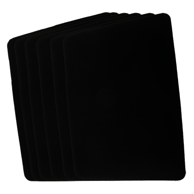Close Up Pad 6 Pack LARGE (Black 12.75 i