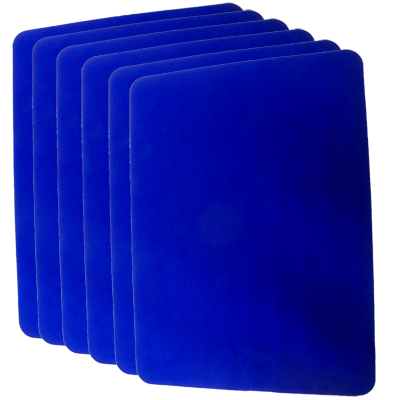 Close Up Pad 6 Pack LARGE (Blue 12.75 in