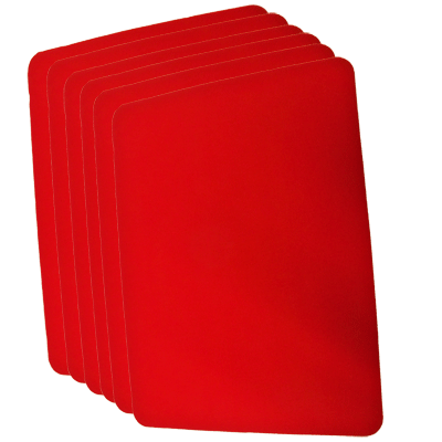 Close Up Pad 6 Pack LARGE (Red 12.75 inc