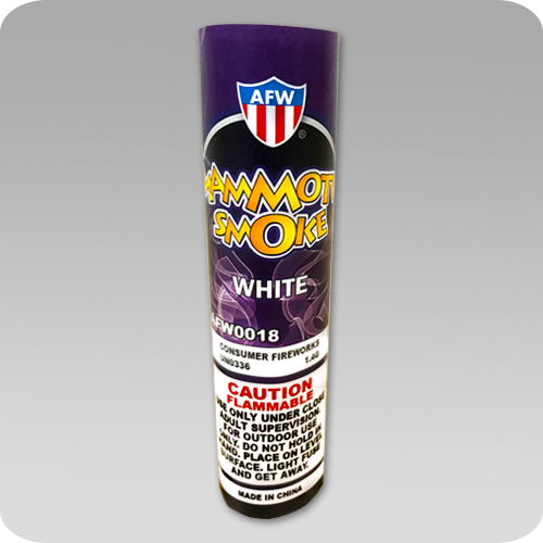 Mammoth Smoke Bomb White