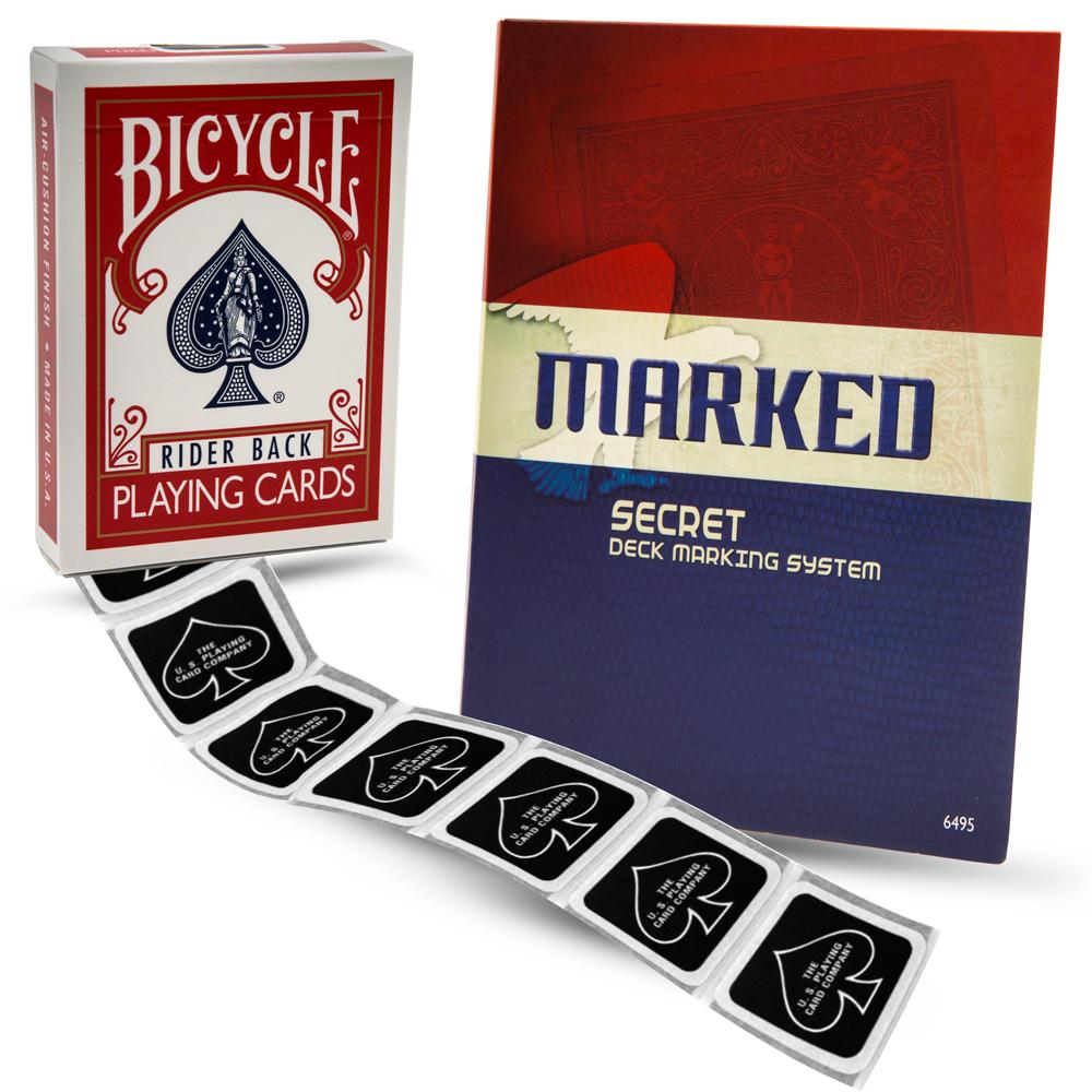 MARKED Bicycle Marked Deck Kit by Magic Makers