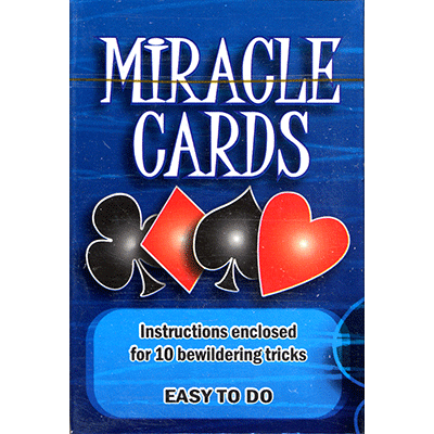Miracle Cards (stripper deck) by Vincenzo Di Fatta Tricks