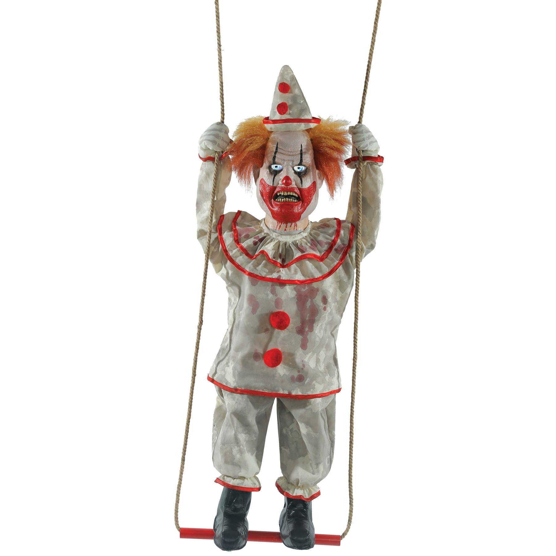 Swinging Happy Clown Animated