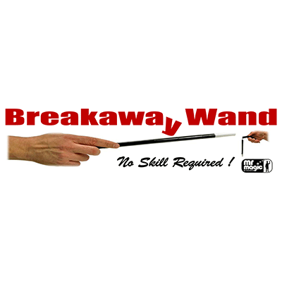 Breakaway Wand by Mr. Magic Trick