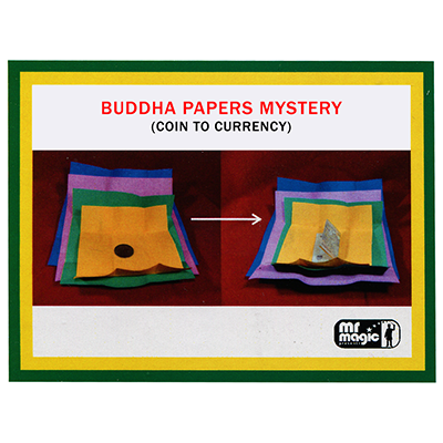 Buddha Papers Mystery by Mr Magic Trick