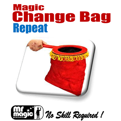 Magic Change Bag (Repeat w/ zipper) by M