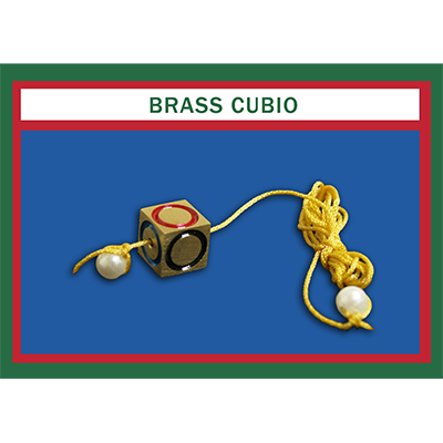 Cubio Brass by Mr. Magic Trick