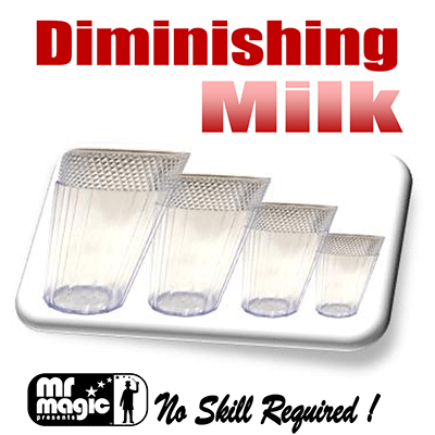 Diminishing Milk Glasses (multim in Parv